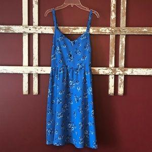 LOFT Blue floral dress! 💙